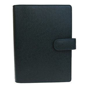 LOUIS VUITTON Agenda MM Day Planner Taiga Leather